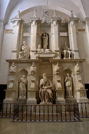 Monumneto funerario- Moises